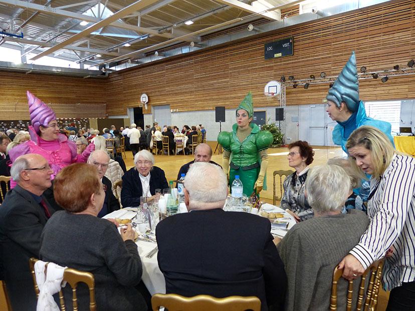 Banquet des retraités