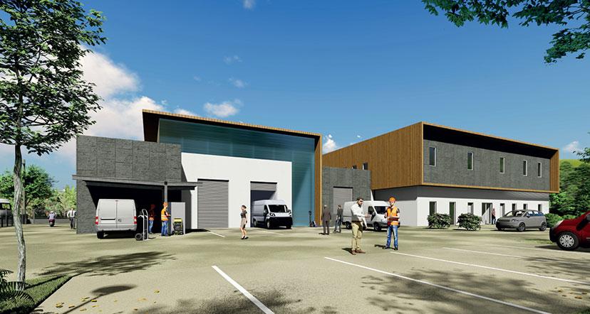Le nouveau Centre technique municipal