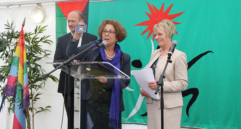 Citoyenneté palestinienne attribuée au maire