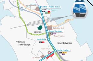 Carte tracé Téléval