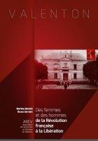 Livre AREV : Des femmes et des hommes - De la révolution française à la Libération