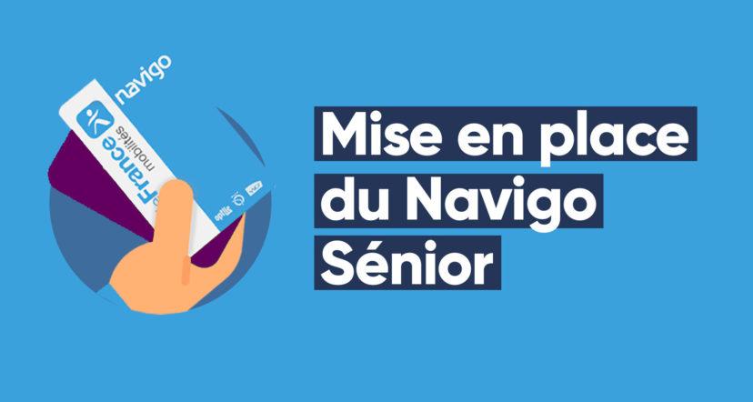 La carte Navigo Senior à 60 euros par an
